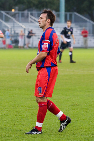 Dougie Freedman, captain for the second half team.