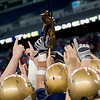 Record-Eagle/Jan-Michael Stump<br /> Traverse City St. Francis vs Hudson in Saturday's state final in Detroit.<br /> 2nd half