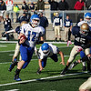 Record-Eagle/Keith King<br /> Ishpeming's Alex Briones runs the ball against Traverse City St. Francis Saturday, November 12, 2011 at Thirlby Field in Traverse City.