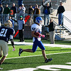 Record-Eagle/Keith King<br /> Ishpeming's Guiseppi Bertucci runs the ball into the end  zone for a touchdown against Traverse City St. Francis Saturday, November 12, 2011 at Thirlby Field in Traverse City.