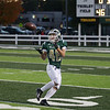 Record-Eagle/Keith King<br /> Traverse City West's Griffin Forrester catches a pass from Donny Cizek for a touchdown against Ogemaw Heights Friday, October 12, 2012 at Thirlby Field in Traverse City.