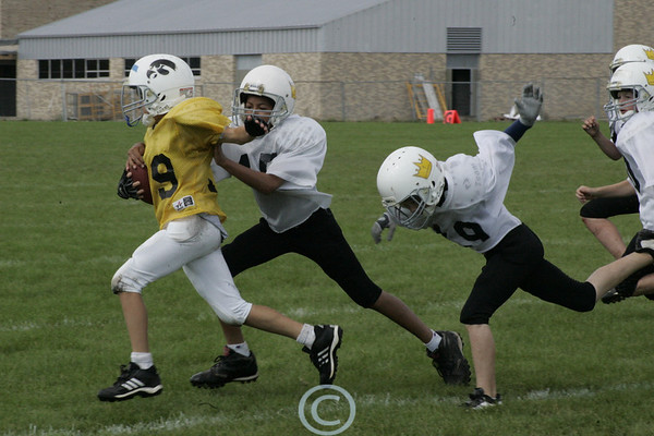 YSF Football 9/7/08 ~ Regina vs Iowa City East Gold (FINAL UPLOAD TO COME)