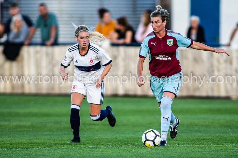 02.08.2018 Middlesbrough FC Women v Burnley FC Women.  Bedford Terrace Billingham. Photograph by Tony Burgum.  ©Tony Burgum