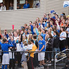 Lunenburg students cheer during the homecoming game against Ayer/Shirley on Saturday.<br /> SENTINEL & ENTERPRISE / ALAN ARSENAULT