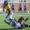as the Redlands Bulldogs faced UMHB at Crusader Stadium on Saturday, Nov  19, 2016.