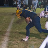 Quabbin's Travis Lanpher gets into the end zone to tie the score at 50-50 with a 15 seconds left in the game against Lunenburg. The 2 point conversion was good to give Quabbin a 52-50 Thanksgiving Eve win. SENTINEL & ENTERPRISE / Jim Marabello