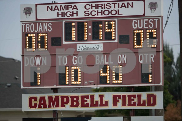 181005_Nampa Christian vs Melba Varsity Football