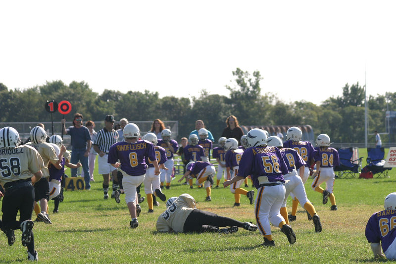 2003 Ryan's Football vs Vikings 072
