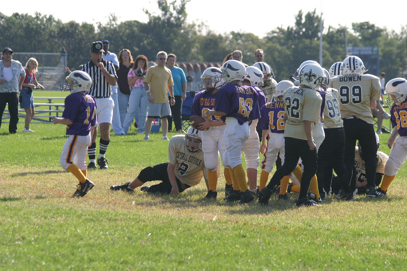 2003 Ryan's Football vs Vikings 022