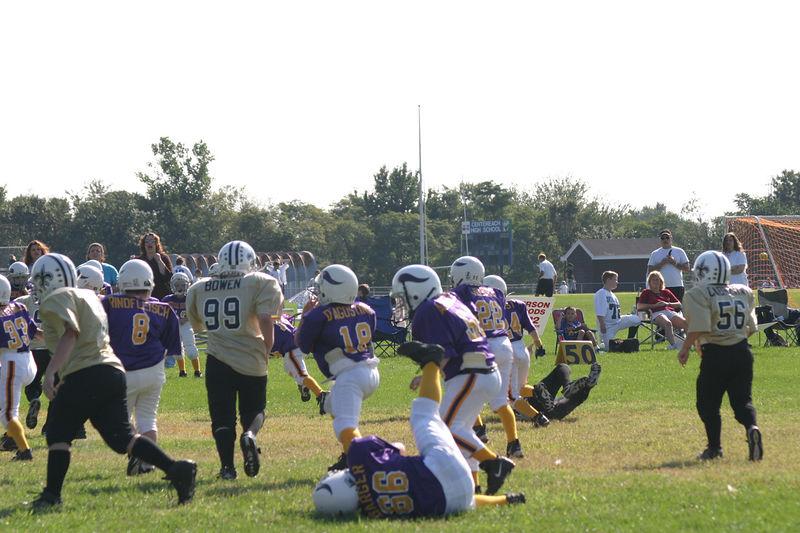 2003 Ryan's Football vs Vikings 070