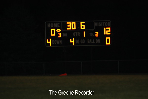 JV Football vs Hampton-Dumont