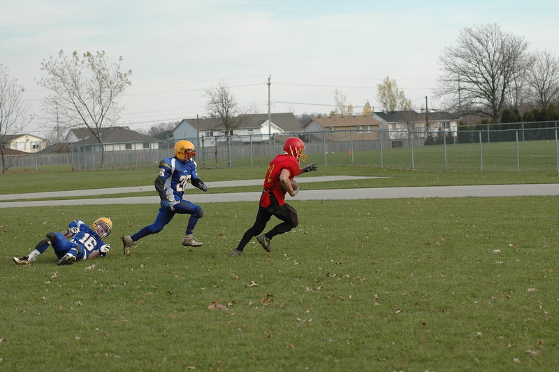 2006 November  10 Football Caledonia vs Hagersville