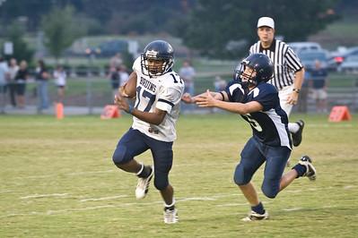 Sports-Football PA Jr vs LR Christian 091808-2