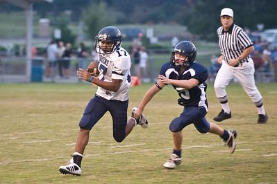 Sports-Football PA Jr vs LR Christian 091808-3