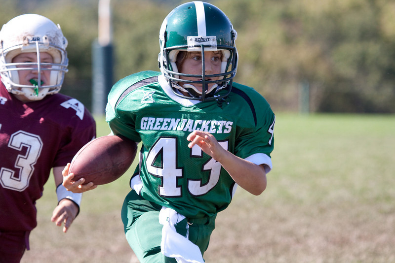 2009-09-13 - Pennridge Greenjackets Football - btk