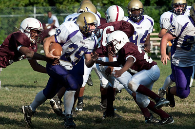 2009-09-14 Football JV Roman vs Boys Latin