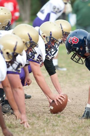 2009-10-12 Football JV Roman vs O'Hara