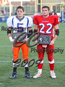 Class B Offensive Player of the Year: Austin Dwyer (Hornell)  Class B Defensive Player of the Year: Jeff Wester (Livonia)