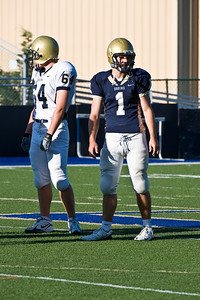 Sports-Football-PA Scrimmage 2009-9