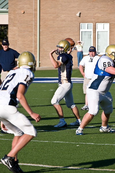 Sports-Football-PA Scrimmage 2009-25
