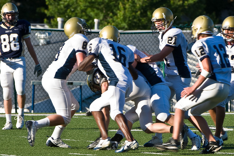 Sports-Football-PA Scrimmage 2009-38