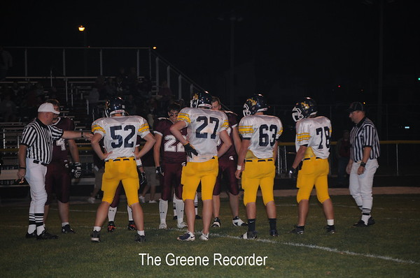 Football at Grundy Center