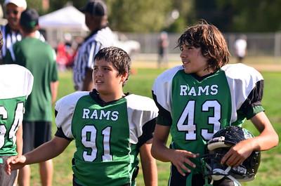 2011 Dixon Rams Jr. Midgets vs. Healdsburg