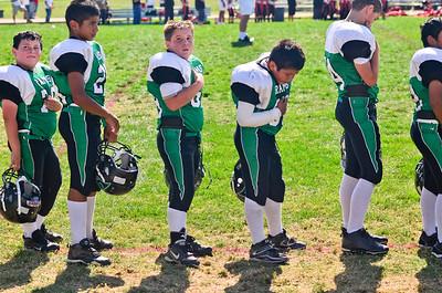 2011 Dixon Rams Pee Wee vs. Healdsburg