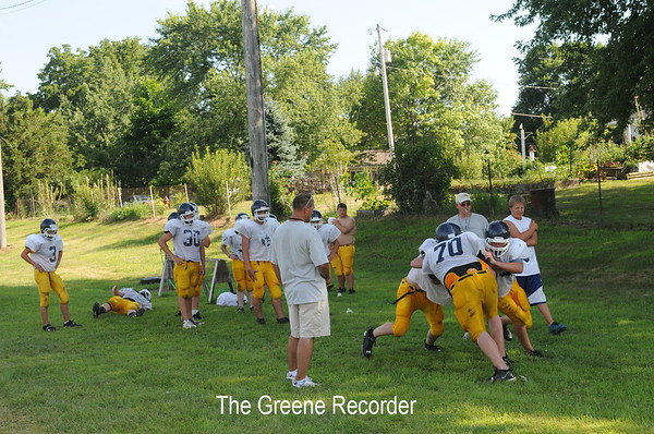 Football Camps and Field Prep