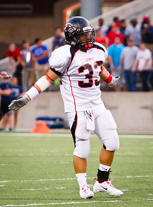 Game: Langham Creek Lobos vs Cy-Ridge Rams at Berry Center on Thursday, September 8, 2011  Photo by Greg Vaughn.  Available at http://www.gregvphotography.com