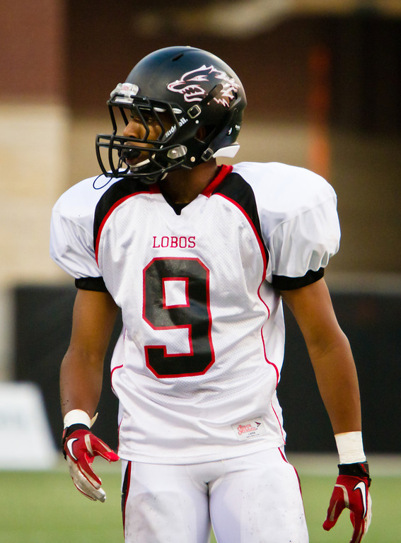 """Game: Langham Creek Lobos vs Cy-Ridge Rams at Berry Center on Thursday, September 8, 2011<br /> <br /> Photo by Greg Vaughn.  Available at <a href=""""http://www.gregvphotography.com"""">http://www.gregvphotography.com</a>"""