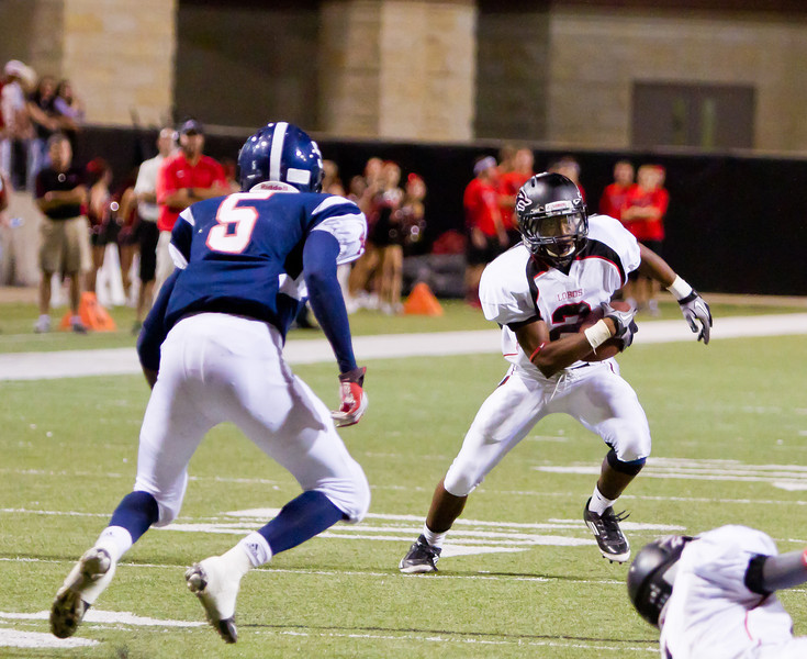 "Game: Langham Creek Lobos vs Cypress Springs Panthers at Berry Center on Friday, September 23, 2011<br /> <br /> Photo by Greg Vaughn.  Available at <a href=""http://www.gregvphotography.com"">http://www.gregvphotography.com</a>"