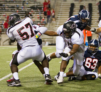 Game: Langham Creek Lobos vs Cypress Springs Panthers at Berry Center on Friday, September 23, 2011  Photo by Greg Vaughn.  Available at http://www.gregvphotography.com