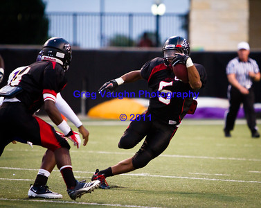 Game: Langham Creek Lobos vs Jersey Village Falcons at Berry Center on Thursday, September 15, 2011  Photo by Greg Vaughn.  Available at http://www.gregvphotography.com