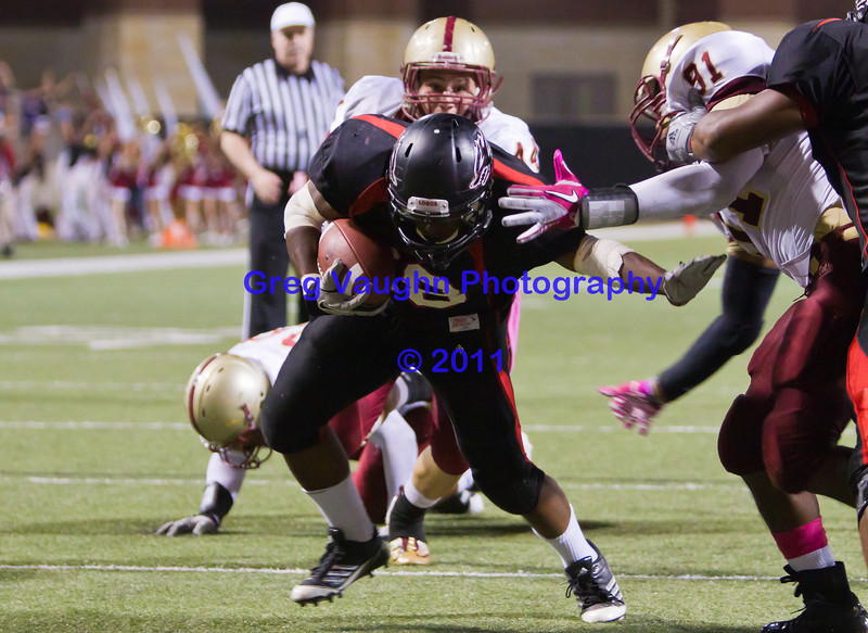 """Game: Langham Creek Lobos vs Cy-Woods Wildcats at Berry Center on Friday, October 15, 2011<br /> <br /> Photo by Greg Vaughn.  Available at <a href=""""http://www.gregvphotography.com"""">http://www.gregvphotography.com</a>"""