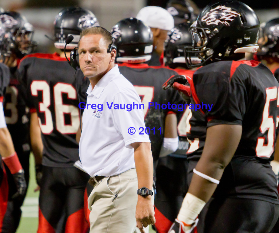 "Game: Langham Creek Lobos vs Cy-Woods Wildcats at Berry Center on Friday, October 15, 2011<br /> <br /> Photo by Greg Vaughn.  Available at <a href=""http://www.gregvphotography.com"">http://www.gregvphotography.com</a>"