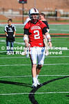 12 November 2011:  Freshman Tim Hines caught a 41-yard pass from sophomore Jonathan Carkhuff with 47 seconds left in the game to lift Davidson to a 28-24 Pioneer Football League victory over Morehead State Saturday afternoon at Smith Field at Richardson Stadium  in Davidson, North Carolina.
