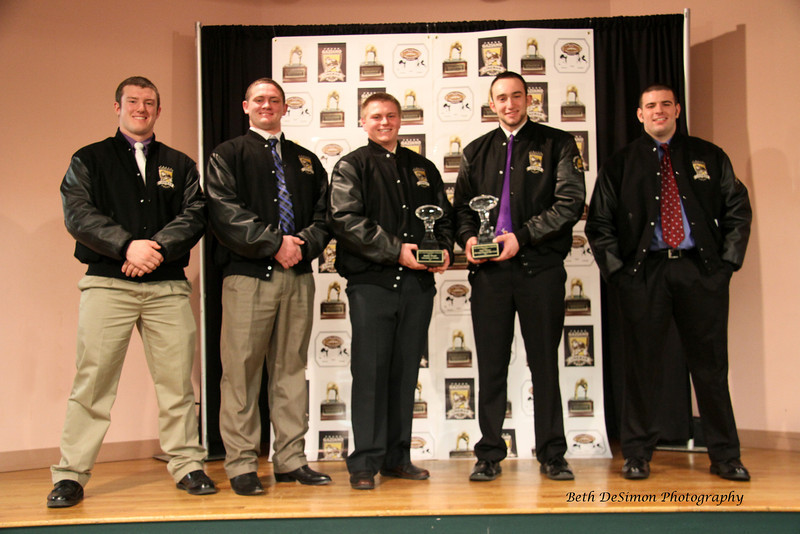 Nate Martel, Luke Libby, Bobby Begin, Kurt Massey, Matt Welch and absent from photo Logan Mars who is out of State with the United States Coast Guard.<br /> Nate and Matt are the 2010 1st Place Award Winners<br /> Luke Libby and Logan Mars the 2011 Award Winners and<br /> Bobby Begin and Kurt Massey 2012 Award WInners