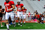 27 October 2012: Butler's Trae Heeter gained 256 total yards and rushed for two touchdowns as the Bulldogs held off Davidson, 31-20 in Pioneer Football League action Saturday afternoon at Smith Field at Richardson Stadium  in Davidson, North Carolina.