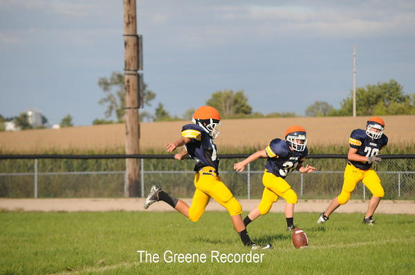 Football Scrimmage 2012