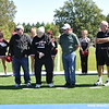 The dedication of the O'Malley Field in Larry Wilcox Stadium. Thank O'Malley family for all you do for Benedictine!