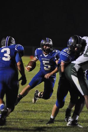 QB Jeff Zigenhagen runs the ball for a touchdown.