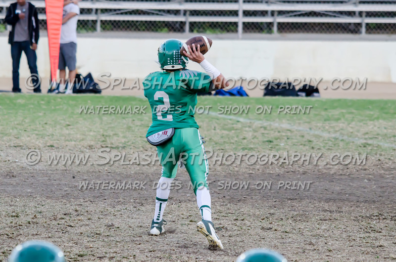 Eagle Rock Football vs Wilson Mules