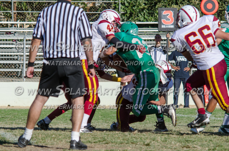 Eagle Rock JV Football vs La Canada Spartans