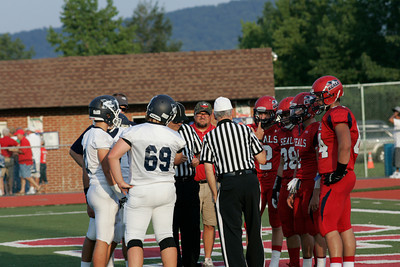Mifflinburg at Selinsgrove high school football on Friday, Aug 29, 2013.