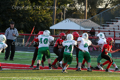 WBLW 4th Grade Football vs Salem-2