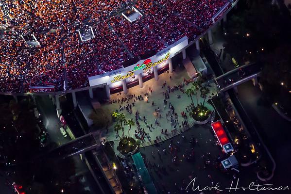 2014 Rose Bowl Stadium aerial photo