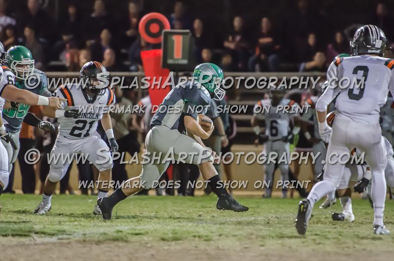 Eagle Rock Football vs Lincoln Tigers