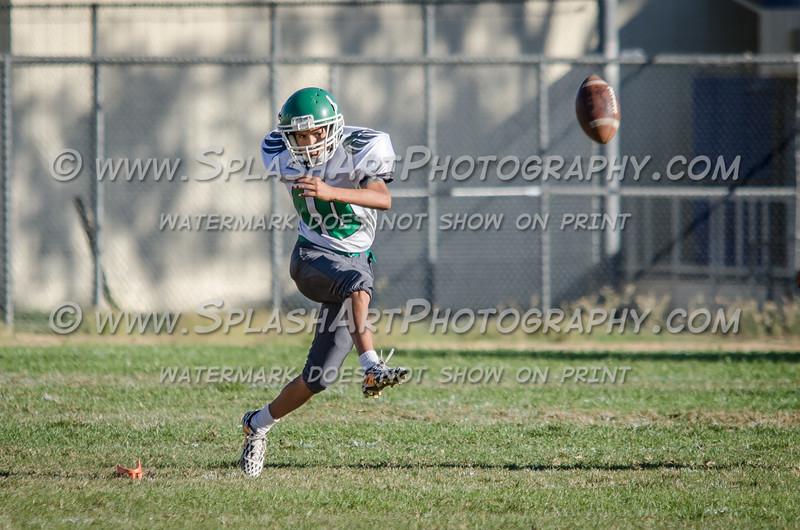 Eagle Rock JV Football vs Wilson Mules