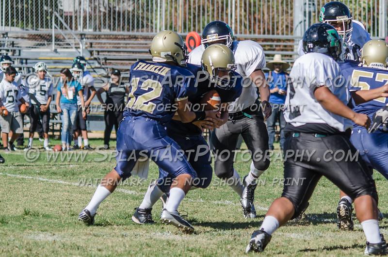Franklin Panthers JV vs Belmont Sentinels